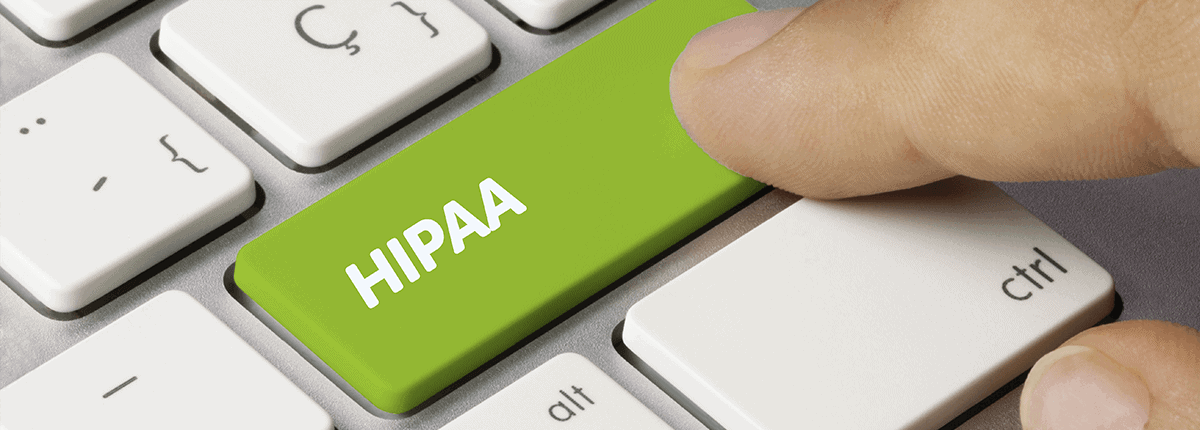 hipaa button on keyword