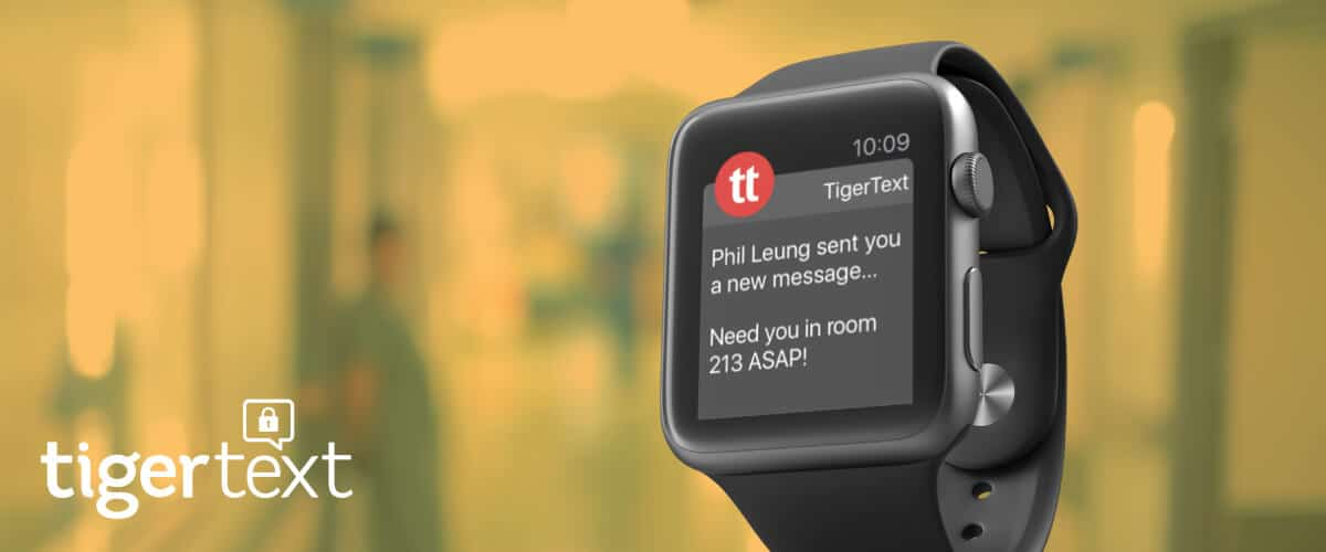 Product Insight: TigerText's Apple Watch App
