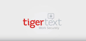 TigerText: Work Securely Logo