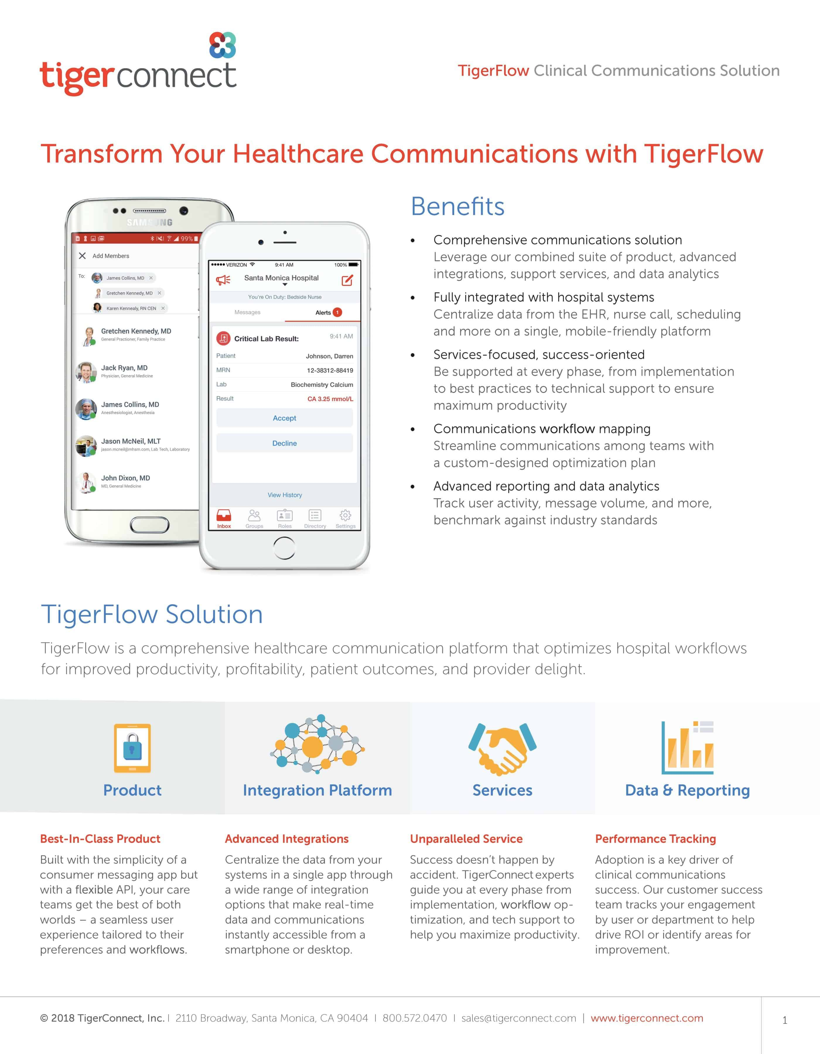 TigerFlow Datasheet Preview