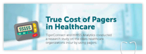 True Cost of Pagers in Healthcare Infographic Rollup Image