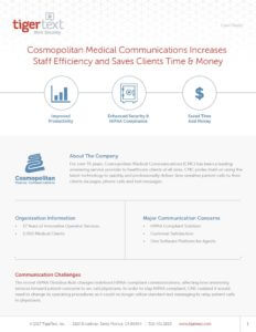 Cosmopolitan Medical Case Study Preview Image