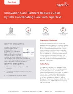 Innovation Care Case Study Image