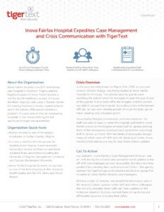 Inova Fairfax Hospital Case Study Preview Image