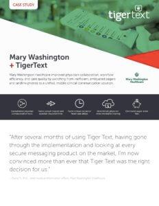 Mary Washington Healthcare Case Study Image