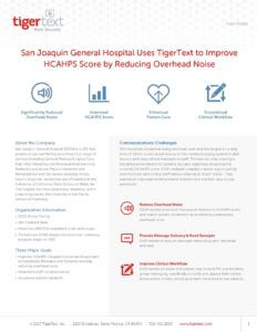 San Joaquin General Hospital Case Study Preview Image