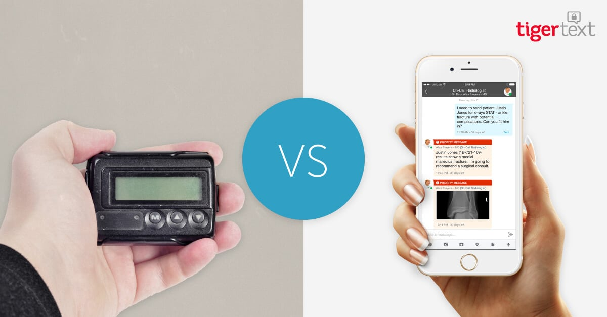 Pager Replacement: Pagers vs. Smartphones