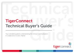 TigerConnect Technical Buyer's Guide eBook Featured Image