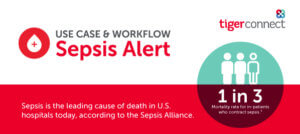 Sepsis Alert: Use Case & Workflow Infographic rollup image