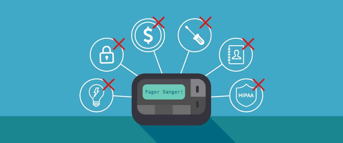 Pager Danger: Six Myths Reveal How Pagers Compromise Healthcare