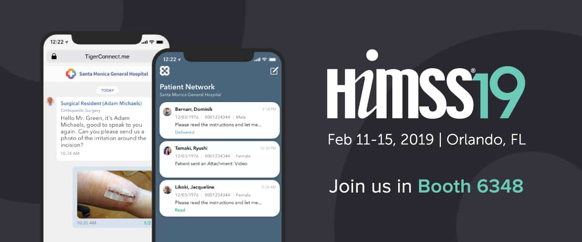 Bringing Radically Better Clinical Communications to HIMSS 2019