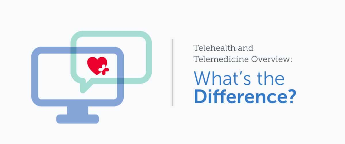Telehealth and Telemedicine Overview: What's the Difference?