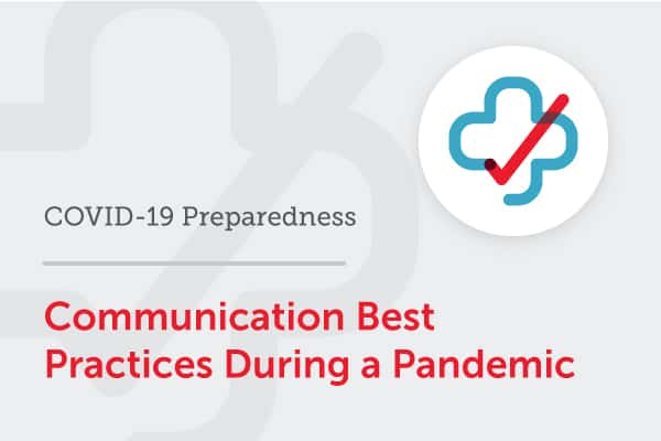 On-demand webinar: healthcare communication best practices during a pandemic