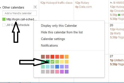 new calendar added