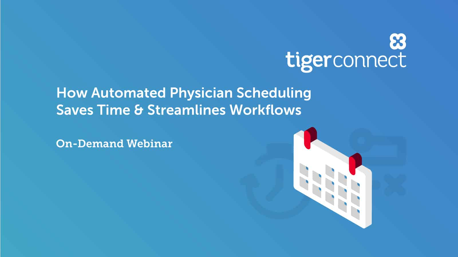 Save time & reduce stress with automated on-call physician scheduling