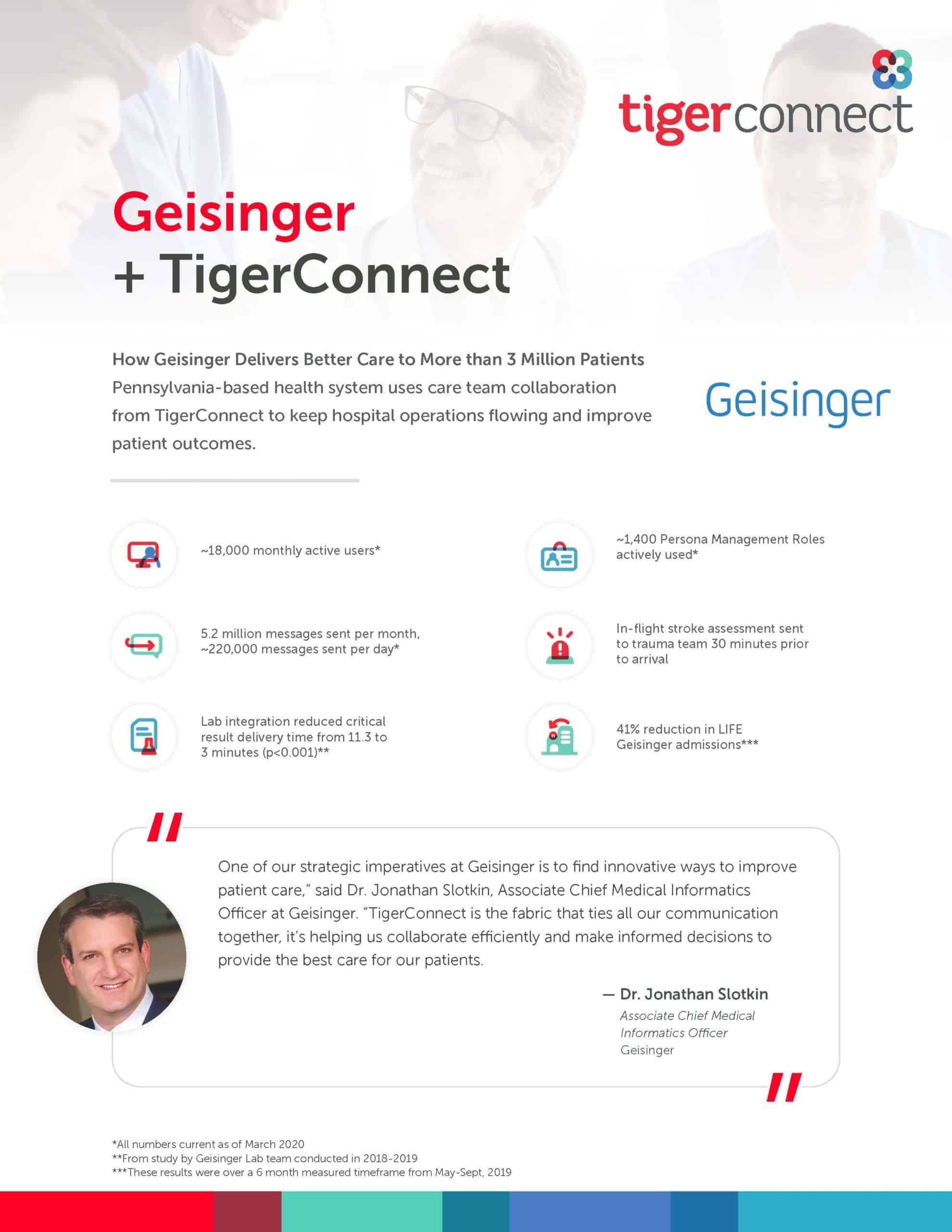 Geisinger Health Case Study Preview