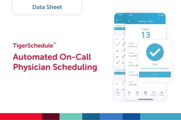 TigerSchedule Datasheet